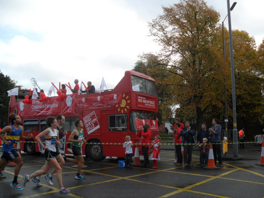 Birmingham half marathon 2013